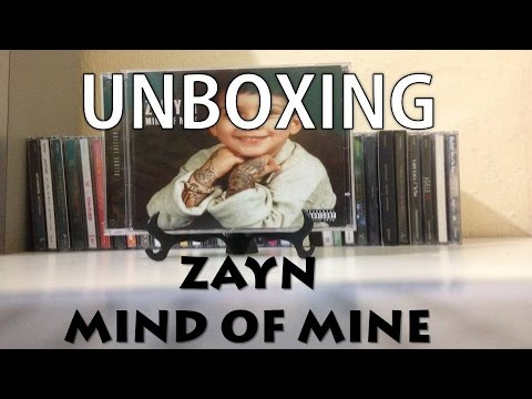 Unboxing: Zayn - Mind Of Mine (Deluxe Edition)