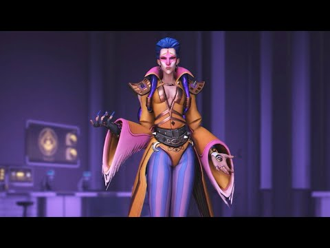 Overwatch: Every Moira Skin, Emote and Highlight Intro thumbnail