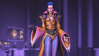 Overwatch: Every Moira Skin, Emote and Highlight Intro