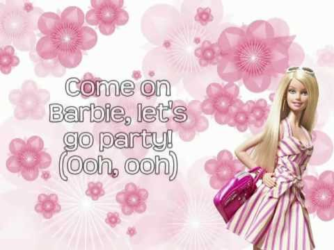 Barbie Girl - Aqua (Lyrics On Screen) HD
