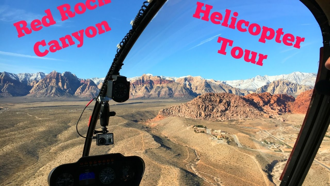 Red Rock Canyon Helicopter Tour  YouTube