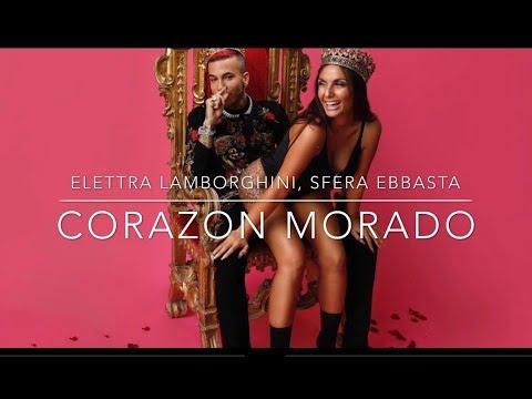 Elettra Lamborghini - Corazon Morado (feat. Sfera Ebbasta)