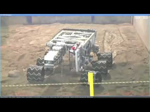 NASA Robotics Mining Competition 2018 - University of Portland - Run 1