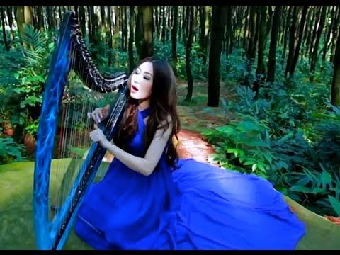 A Thousand Years - Christina Perri (Vocal and Harp Cover by Angela July)