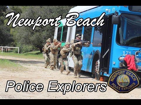 Newport Beach Police Explorers: Competition Season 2017-2018