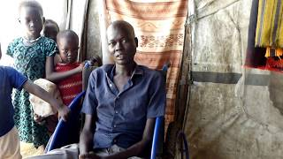 """My life was saved by HI"" - Tueng - Juba camp, South Sudan"