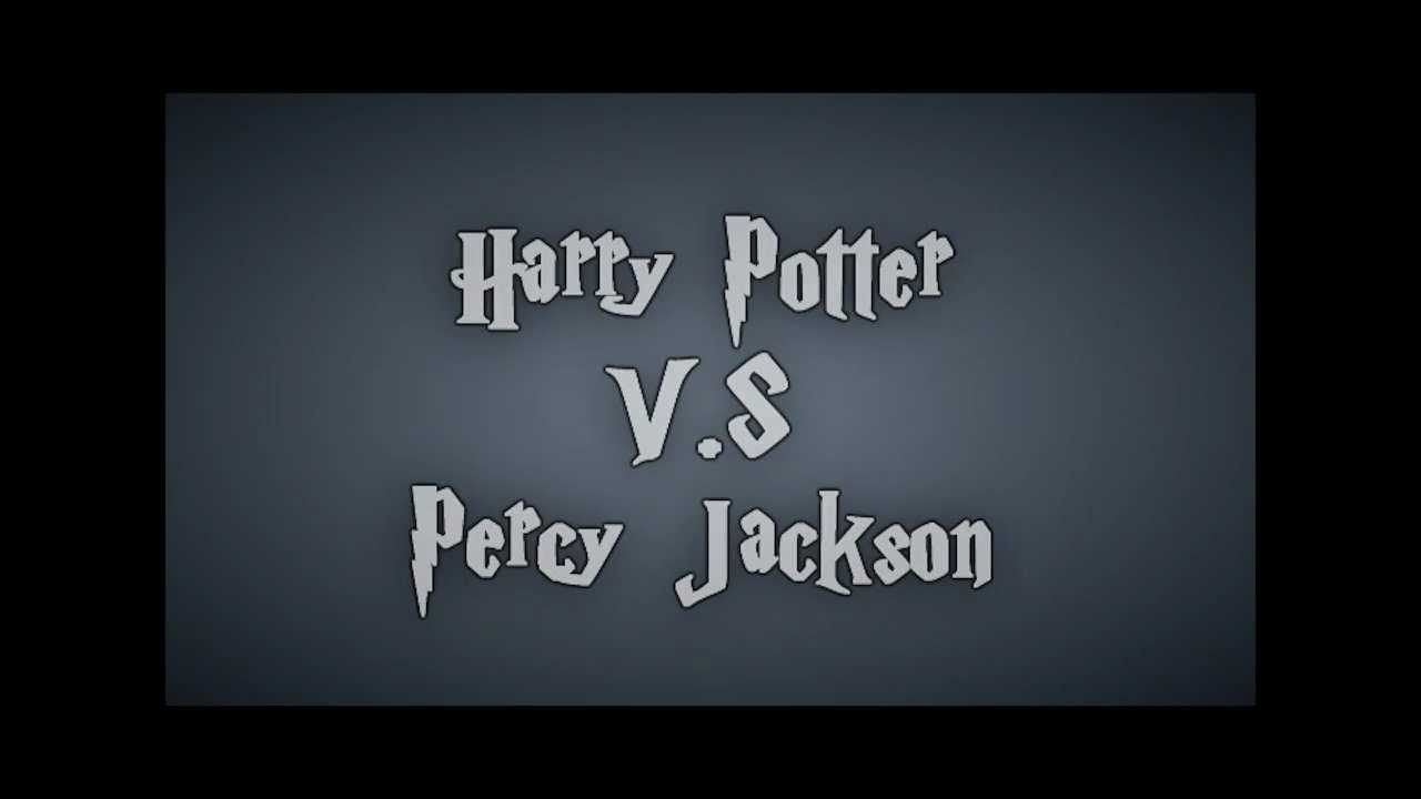 Harry Potter Vs Percy Jackson Youtube