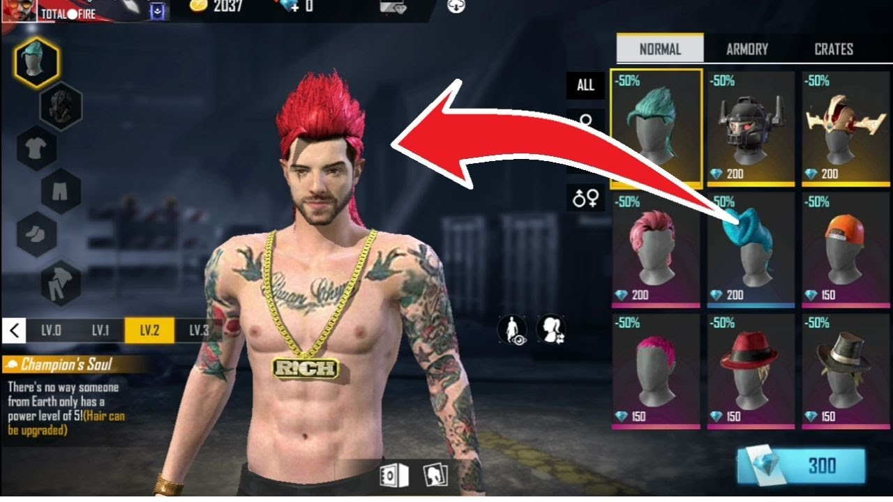 Free Fire Me Hairstyle Kaise Badle How To Get Hairstyle In Free Fire Free Fire Hairstyle Youtube