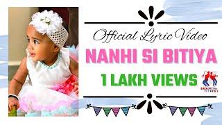 Nanhi Si Bitiya (Original) - Official Lyric Video | Song for Daughter in Hindi | Mukesh Rathore