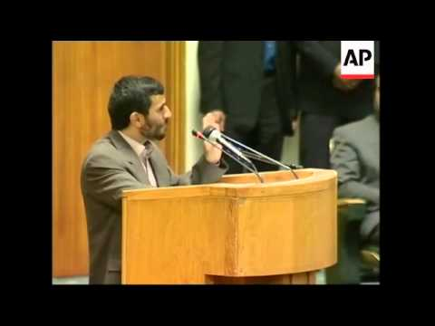Ahmadinejad Calls Israel A