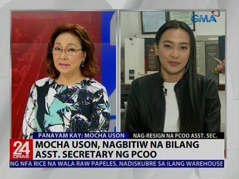 Mocha Uson, nagbitiw na bilang Asst. Secretary ng PCOO