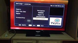 TV plus (ABS-CBN) software upgrade not working