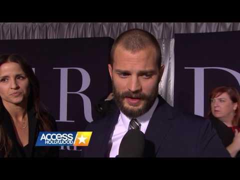 Jamie Dornan - Fifty Shades Darker LA Premiere (Access Hollywood)