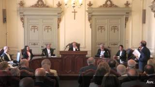 Cerimonia di saluto del dott. Corrado Allegretta, già Presidente del Tar Puglia sede di Bari
