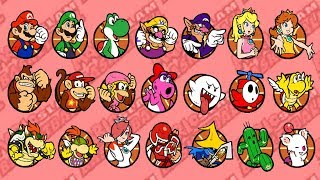 Mario Hoops 3-on-3 - All Characters