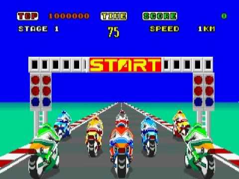 画像: Sega - Hang-On youtu.be