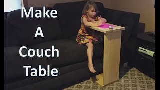 Make a Couch Table