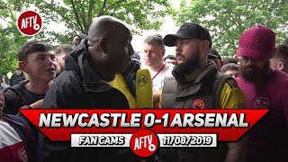 Newcastle 0-1 Arsenal  | Aubameyang Scores Goals For Fun! (DT)