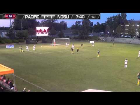 Women's Soccer: Pacific vs. North Dakota State