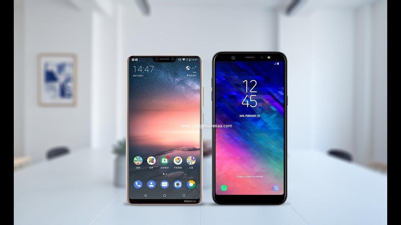 Nokia X6 2018 Vs Samsung Galaxy A6 Plus Comparison 2018 Youtube