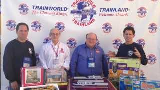 TrainWorldTV With guests from Kalmbach Publishing - Classic Toy Trains Magazine