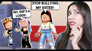 My SISTER Got KICKED OUT of SCHOOL For FIGHTING! - Roblox - Meep City