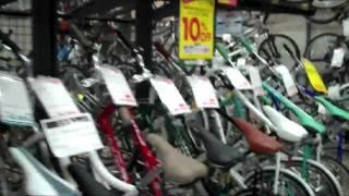 grandmas and unlocked bikes in japan