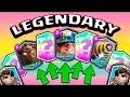 קלאש רויאל - אתגר הלגנדרי ?! משחקים עם Only Legendaries Deck !