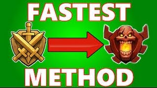 Clash of Clans TIPS ON HITTING CHAMPIONS LEAGUE!!!