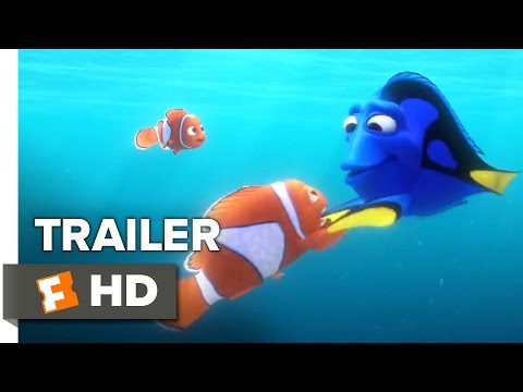 Finding Dory Official Trailer #1 (2016) - Ellen DeGeneres, Michael Sheen Animated Movie HD