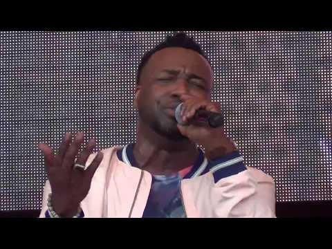 """Nobody Greater/How Great is Our God"" by Vashawn Mitchell at Gospel Festival 2017"