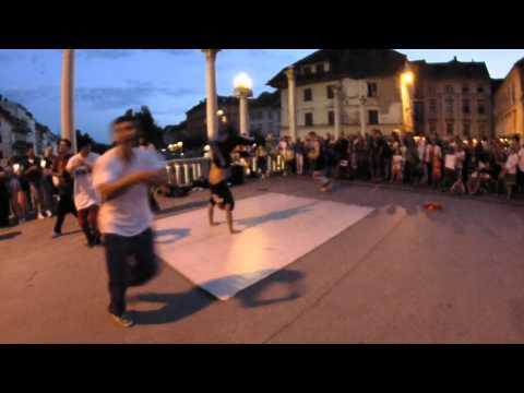 Streetshow in Center of Ljubljana | United Styles (Slovenia)