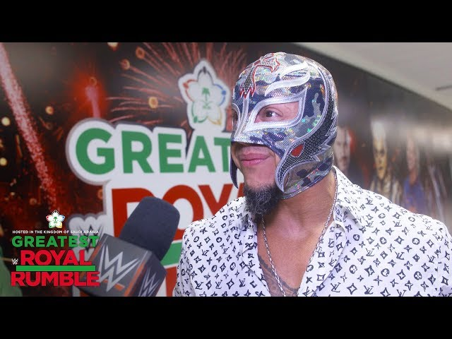 Rey Mysterio arrives ready to Rumble: WWE Exclusive, April 27, 2018
