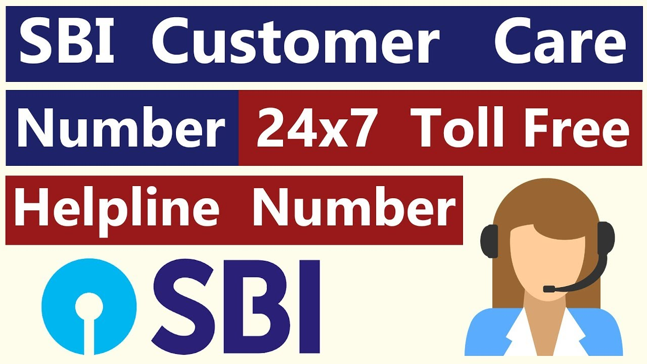 sbi bank customer care number toll free