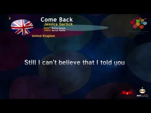 Jessica Garlick-Come Back (United Kingdom) Eurovision Song Contest 2002