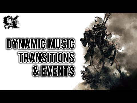 NieR: Automata - Dynamic Music Transitions & Events | Music Analysis