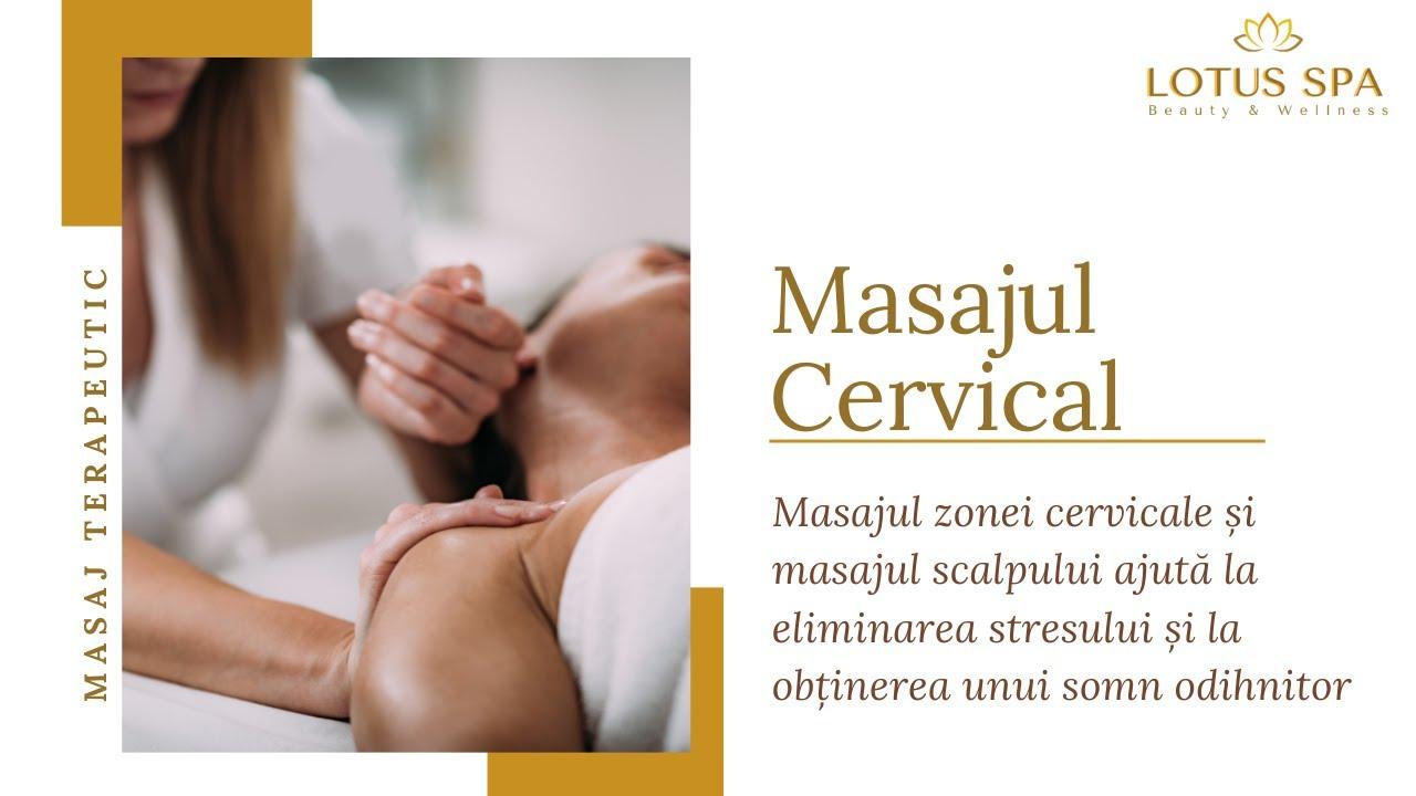Masaj guler cervical pentru îmbunătățirea vederii