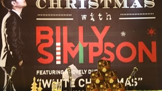 "Launching Album Natal ""Christmas With Billy Simpson"""