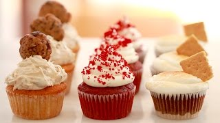 Small-Batch Cupcakes Made in a Toaster Oven (3 Bold Flavors) Gemma's Bigger Bolder Baking Ep 92