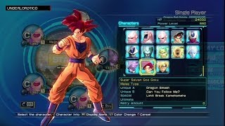 Dragon Ball Z Battle of Z - All Characters List