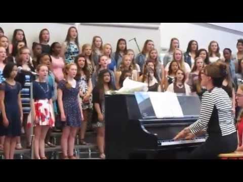 Scott Highlands Middle School Eighth-Grade Choir: May 28, 2015
