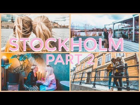 Wegan Travels Stockholm, Sweden | Part 2 | Lesbian Travel | VLOG