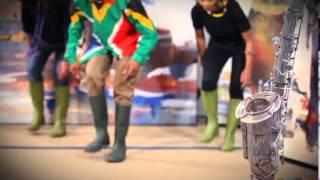 Sam Tshabalala - Chorégraphie entière de la Gumboot dance