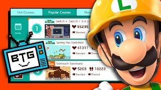 Super Mario Maker 2's Most Popular Courses - Blue Television Games