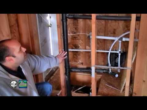 Plumbing: Rough in top out inspection in a single family residence