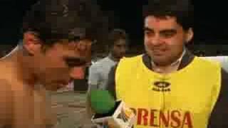 TV AZTECA DEPORTES EN SUDAMERICA LA CORUÑA  vs  DEP TACHIRA