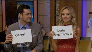 Ben Higgins & Lauren Play a Game on Kelly & Michael | LIVE 3-15-16