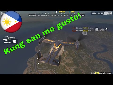 Kung san mo gusto - Rules Of Survival - Pinoy Fireteam - Full Match - Win