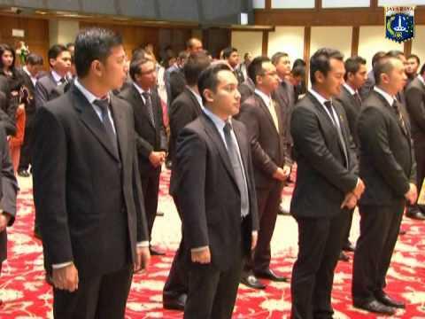 28 Mei 2014 Wagub Basuki T. Purnama Pengukuhan BPD HIPMI Jaya Masa Bakti 2014 -- 2018