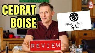 Cedrat Boise Fragrance Review + Giveaway & Frag News!